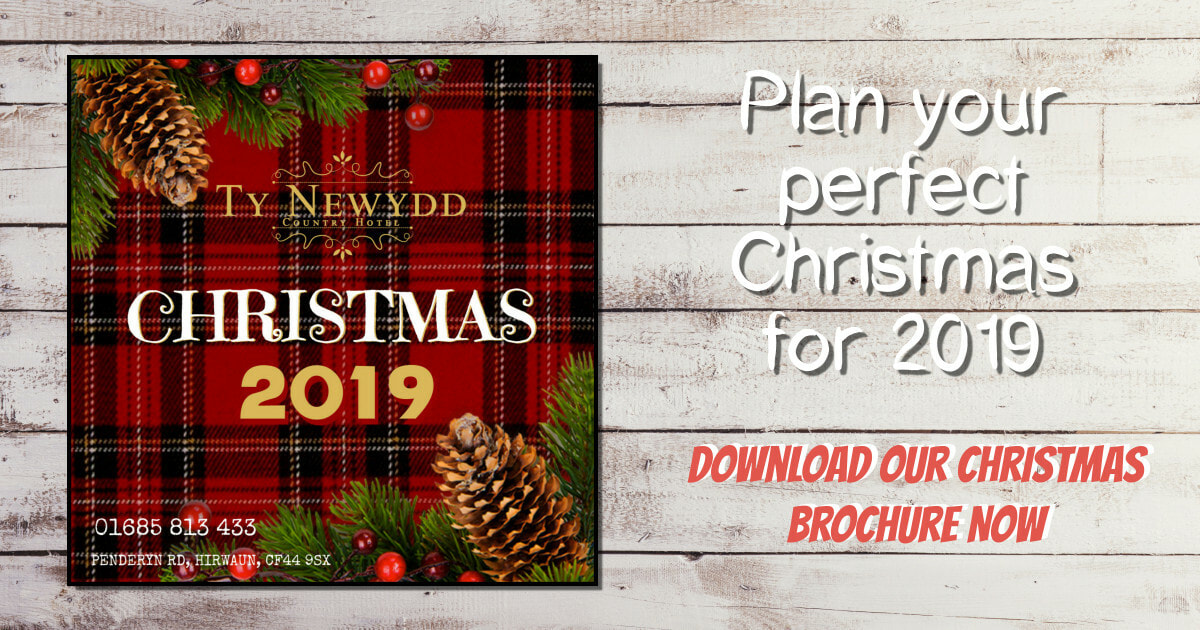 Christmas For All.Xmas 2019 Ty Newydd Country Hotel